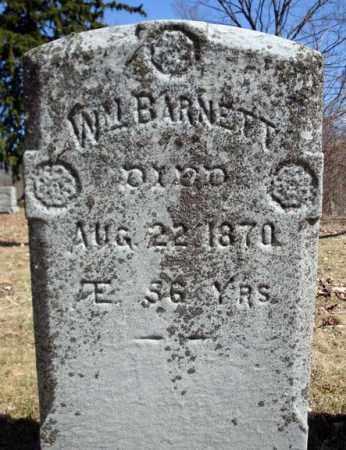 BARNETT, WM - Saratoga County, New York   WM BARNETT - New York Gravestone Photos