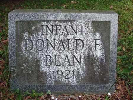 BEAN, DONALD F - Saratoga County, New York   DONALD F BEAN - New York Gravestone Photos