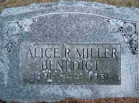 MILLER, ALICE R - Saratoga County, New York   ALICE R MILLER - New York Gravestone Photos