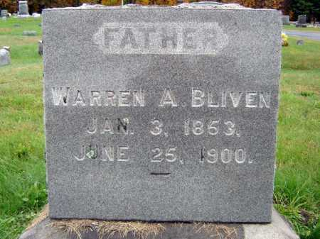 BLIVEN, WARREN A - Saratoga County, New York   WARREN A BLIVEN - New York Gravestone Photos