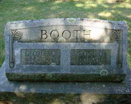 BOOTH, GEORGE C - Saratoga County, New York | GEORGE C BOOTH - New York Gravestone Photos
