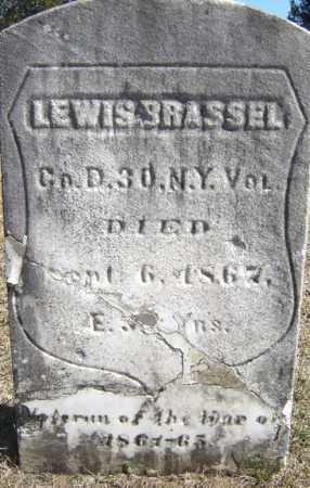 BRASSEL, LEWIS - Saratoga County, New York | LEWIS BRASSEL - New York Gravestone Photos