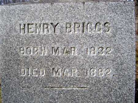 BRIGGS, HENRY - Saratoga County, New York | HENRY BRIGGS - New York Gravestone Photos