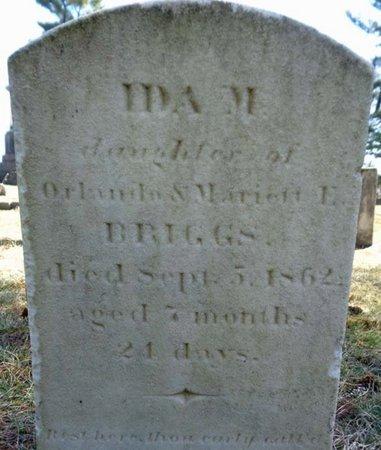 BRIGGS, IDA M - Saratoga County, New York | IDA M BRIGGS - New York Gravestone Photos