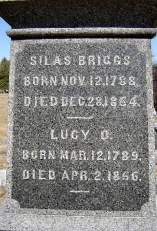 BRIGGS, LUCY D - Saratoga County, New York | LUCY D BRIGGS - New York Gravestone Photos
