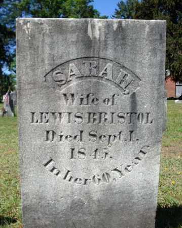 BRISTOL, SARAH - Saratoga County, New York   SARAH BRISTOL - New York Gravestone Photos