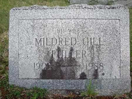 FULLER, MILDRED GILL - Saratoga County, New York | MILDRED GILL FULLER - New York Gravestone Photos