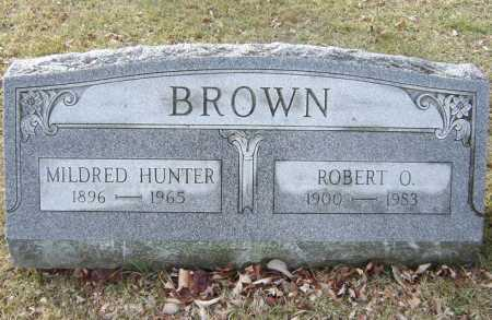 BROWN, ROBERT O - Saratoga County, New York | ROBERT O BROWN - New York Gravestone Photos