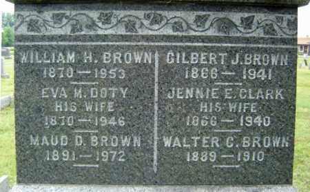 CLARK, JENNIE E - Saratoga County, New York | JENNIE E CLARK - New York Gravestone Photos