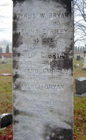 BRYAN, CYRUS W - Saratoga County, New York | CYRUS W BRYAN - New York Gravestone Photos