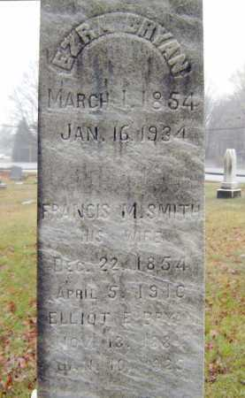 BRYAN, FRANCIS M - Saratoga County, New York | FRANCIS M BRYAN - New York Gravestone Photos