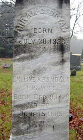 BRYAN, EMELINE A - Saratoga County, New York | EMELINE A BRYAN - New York Gravestone Photos