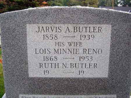 BUTLER, JARVIS A - Saratoga County, New York | JARVIS A BUTLER - New York Gravestone Photos