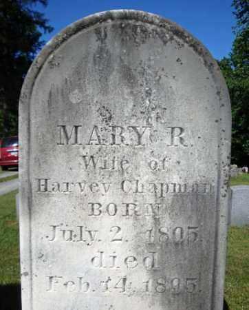 CHAPMAN, MARY R - Saratoga County, New York | MARY R CHAPMAN - New York Gravestone Photos