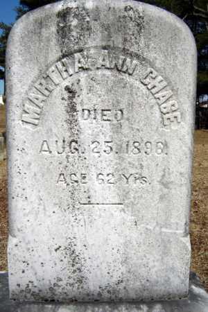 CHASE, MARTHA ANN - Saratoga County, New York | MARTHA ANN CHASE - New York Gravestone Photos