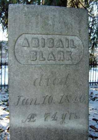 CLARK, ABIGAIL - Saratoga County, New York   ABIGAIL CLARK - New York Gravestone Photos