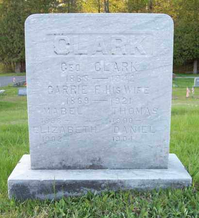 CLARK, THOMAS - Saratoga County, New York | THOMAS CLARK - New York Gravestone Photos
