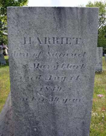 CLARK, HARRIET - Saratoga County, New York   HARRIET CLARK - New York Gravestone Photos