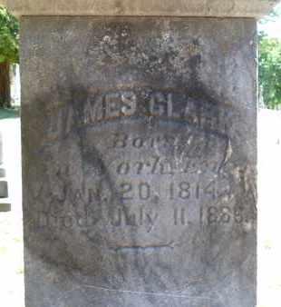 CLARK, JAMES - Saratoga County, New York | JAMES CLARK - New York Gravestone Photos