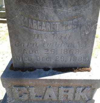 CLARK, MARGARET - Saratoga County, New York | MARGARET CLARK - New York Gravestone Photos