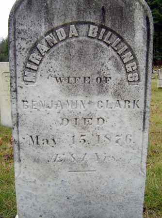 CLARK, MIRANDA - Saratoga County, New York   MIRANDA CLARK - New York Gravestone Photos