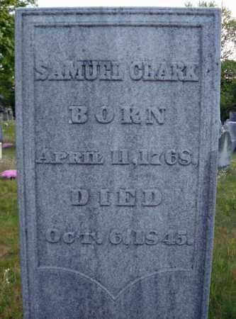 CLARK, SAMUEL - Saratoga County, New York | SAMUEL CLARK - New York Gravestone Photos