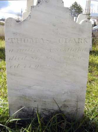 CLARK, THOMAS - Saratoga County, New York | THOMAS CLARK - New York Gravestone Photos