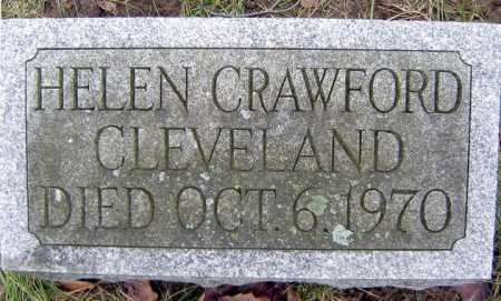 CRAWFORD CLEVELAND, HELEN - Saratoga County, New York   HELEN CRAWFORD CLEVELAND - New York Gravestone Photos