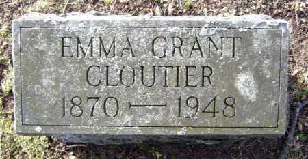 GRANT, EMMA - Saratoga County, New York | EMMA GRANT - New York Gravestone Photos