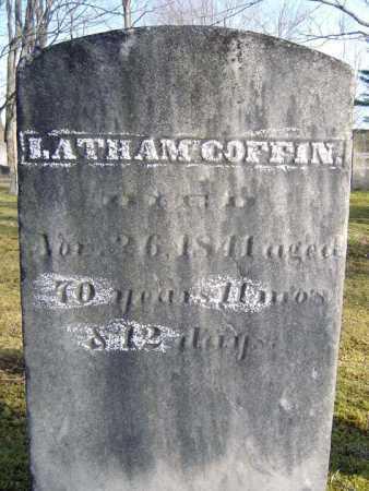 COFFIN, LATHAM - Saratoga County, New York | LATHAM COFFIN - New York Gravestone Photos