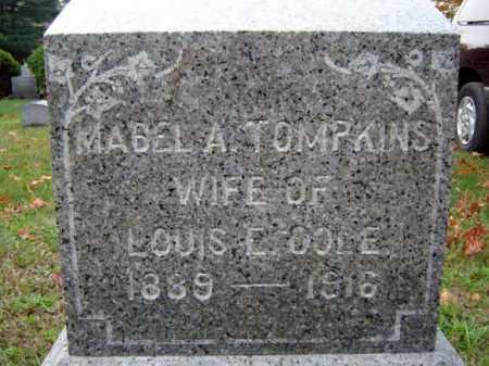 TOMPKINS, MABEL A - Saratoga County, New York | MABEL A TOMPKINS - New York Gravestone Photos