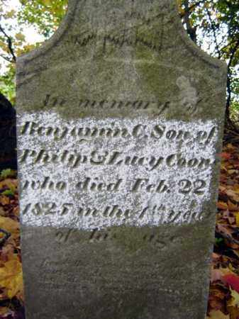 COON, BENJAMIN C - Saratoga County, New York | BENJAMIN C COON - New York Gravestone Photos