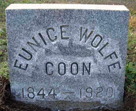 COON, EUNICE - Saratoga County, New York | EUNICE COON - New York Gravestone Photos