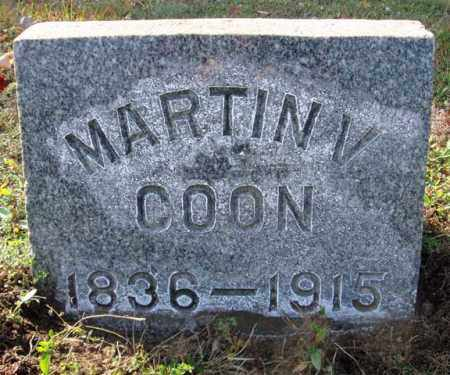 COON, MARTIN V - Saratoga County, New York | MARTIN V COON - New York Gravestone Photos