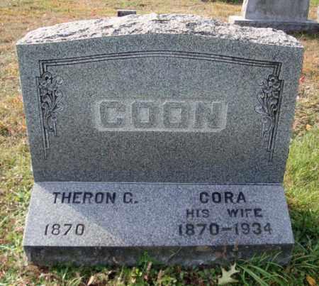 COON, CORA - Saratoga County, New York | CORA COON - New York Gravestone Photos