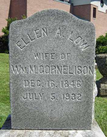 LOW, ELLEN A - Saratoga County, New York | ELLEN A LOW - New York Gravestone Photos