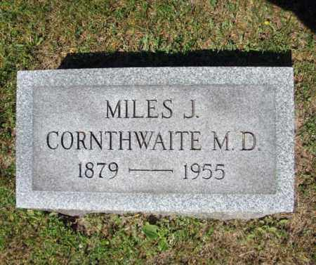CORNTHWAITE, MILES J - Saratoga County, New York | MILES J CORNTHWAITE - New York Gravestone Photos