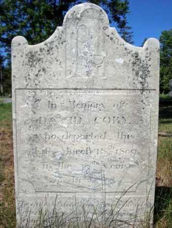 CORY, DAVID - Saratoga County, New York | DAVID CORY - New York Gravestone Photos