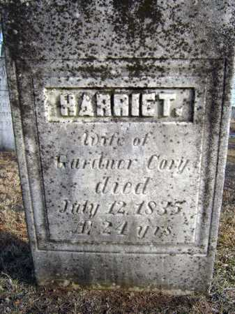 CORY, HARRIET - Saratoga County, New York | HARRIET CORY - New York Gravestone Photos