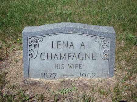 CHAMPAGNE CRAIG, LENA A - Saratoga County, New York | LENA A CHAMPAGNE CRAIG - New York Gravestone Photos