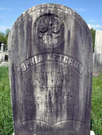 KETCHUM, SOPHIA - Saratoga County, New York   SOPHIA KETCHUM - New York Gravestone Photos
