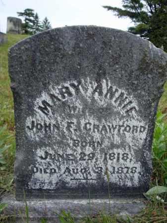 MORIARTY, MARY ANNIE - Saratoga County, New York | MARY ANNIE MORIARTY - New York Gravestone Photos