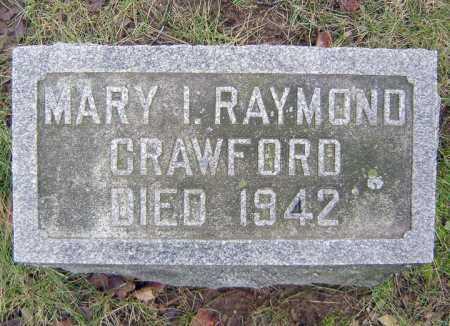 RAYMOND, MARY I - Saratoga County, New York | MARY I RAYMOND - New York Gravestone Photos