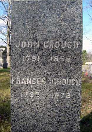 CROUCH, JOHN - Saratoga County, New York | JOHN CROUCH - New York Gravestone Photos