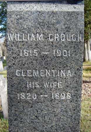 CROUCH, WILLIAM - Saratoga County, New York | WILLIAM CROUCH - New York Gravestone Photos