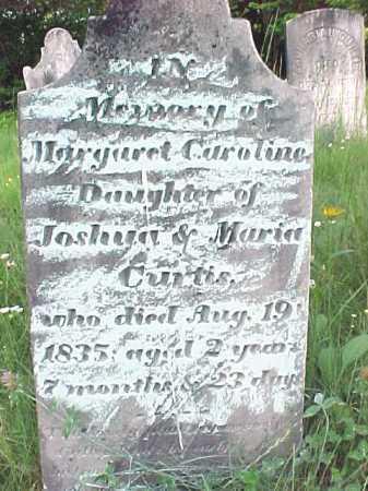 CURTIS, MARGARET CAROLINE - Saratoga County, New York   MARGARET CAROLINE CURTIS - New York Gravestone Photos