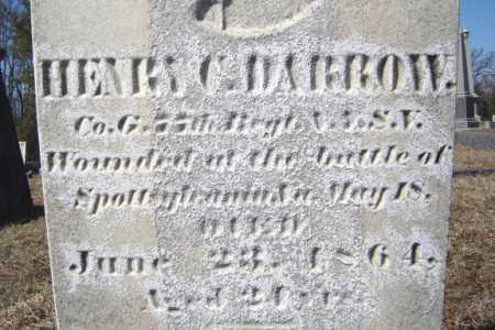DARROW, HENRY C - Saratoga County, New York | HENRY C DARROW - New York Gravestone Photos