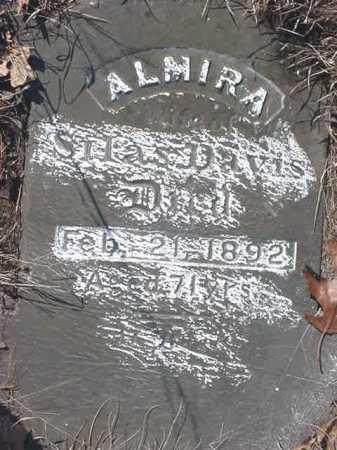 DAVIS, ALMIRA - Saratoga County, New York   ALMIRA DAVIS - New York Gravestone Photos