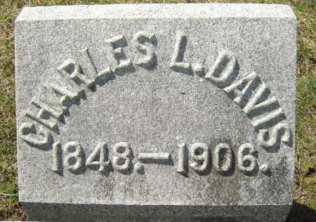 DAVIS, CHARLES LIVINGSTON - Saratoga County, New York | CHARLES LIVINGSTON DAVIS - New York Gravestone Photos