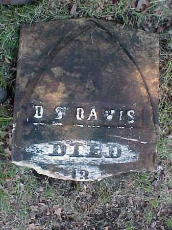 DAVIS, DARIUS S - Saratoga County, New York | DARIUS S DAVIS - New York Gravestone Photos